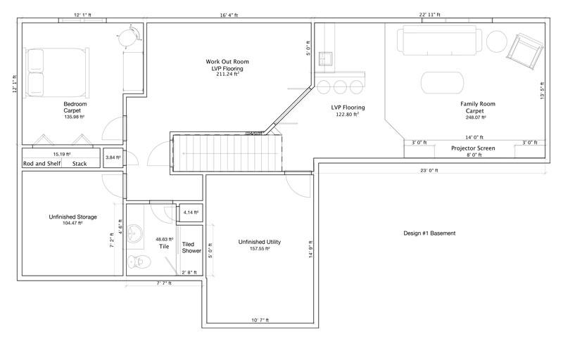 Basement-Design Remodeling